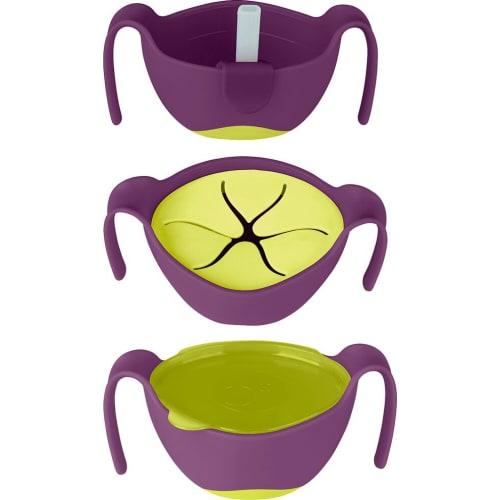Wielofunkcyjny kubek niewysypek do karmienia dla dzieci, Passion Splash, b.box