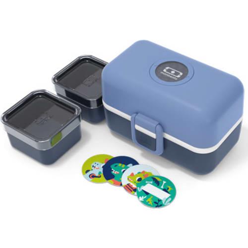 Bento box MonBento TRESOR blue Infinity