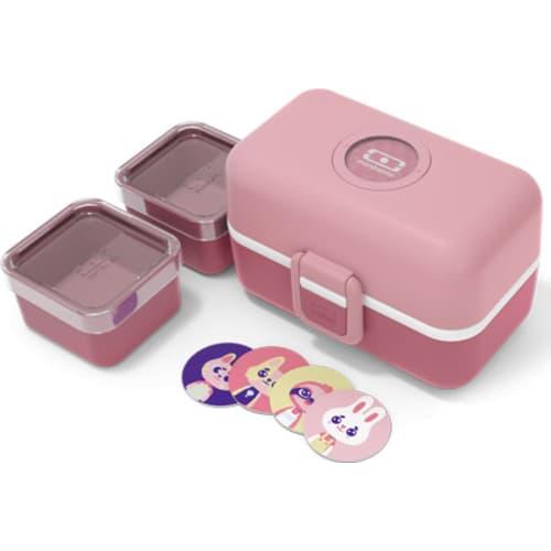 Bento box MonBento TRESOR pink Blush