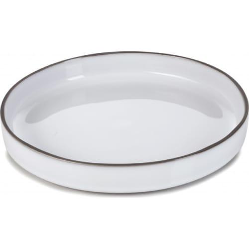 CARACTERE Talerz gourmet 23 cm Biała Chmura