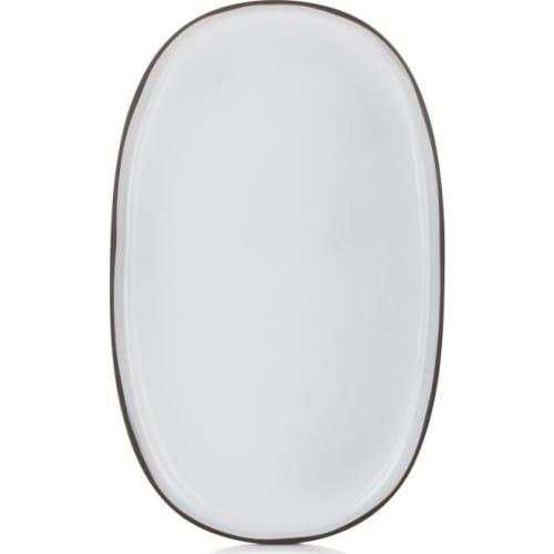 CARACTERE Półmisek 46 x 29 cm Biała Chmura