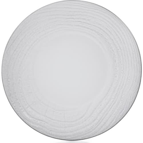 SWELL Talerz płaski 31 cm biały piasek