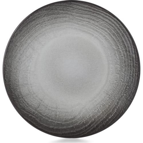 SWELL Talerz płaski 21,5 cm czarny piasek
