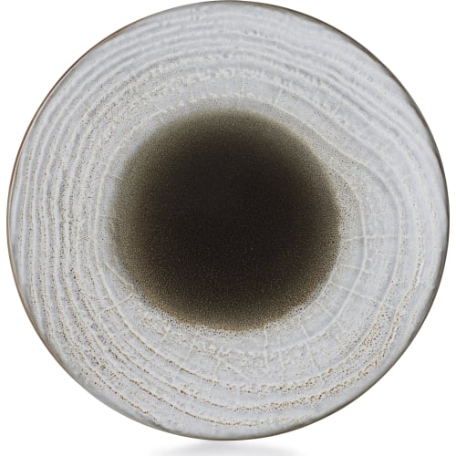 SWELL Talerz płaski 21,5 cm brązowy piasek