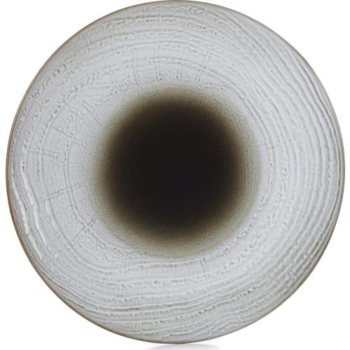 SWELL Talerz płaski 28,3 cm brązowy piasek