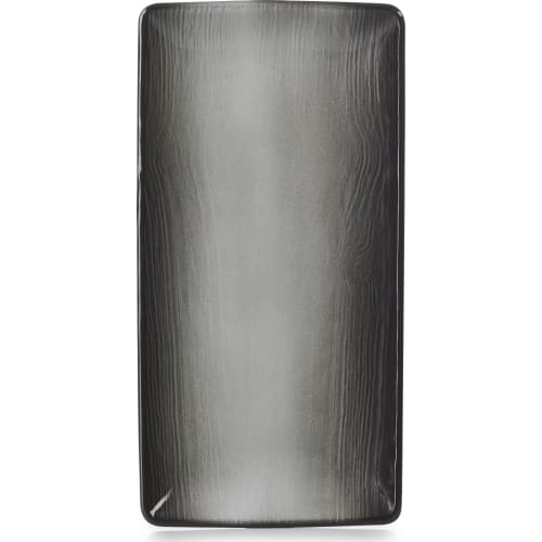 SWELL Półmisek 30,2x15,3 cm czarny piasek