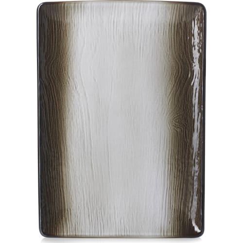 SWELL Półmisek 32x23 cm brązowy piasek