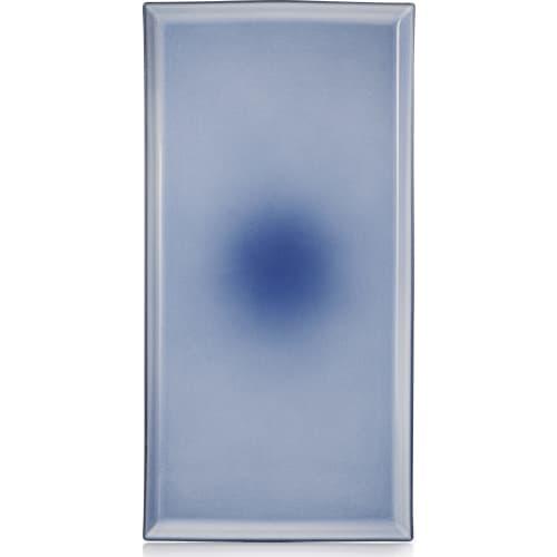 EQUINOXE Półmisek 55,5x28 niebieski