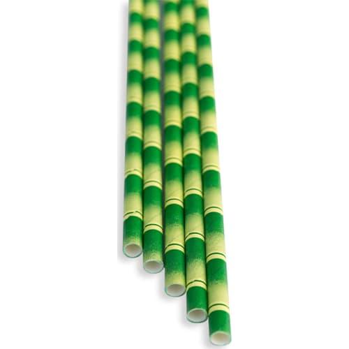 Słomki bambus (op. 100 szt)