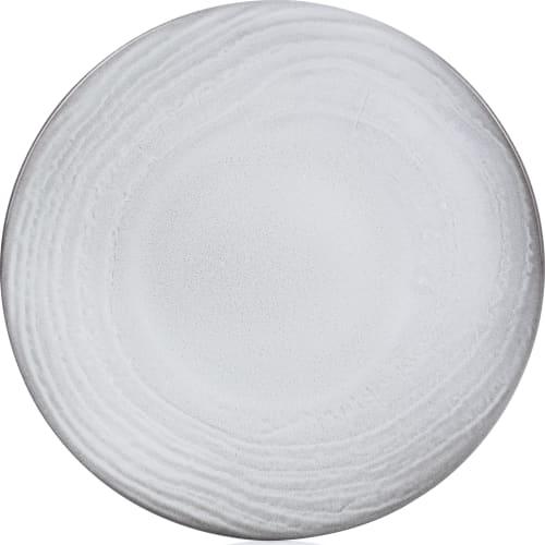 SWELL Talerz płaski 16 cm biały piasek