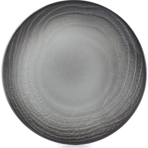 SWELL Talerz płaski 16 cm czarny piasek