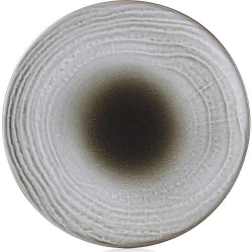 SWELL Talerz płaski 16 cm brązowy piasek