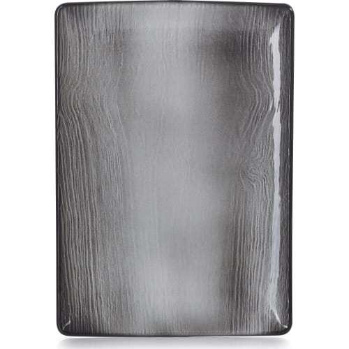 SWELL Półmisek 32x23 cm czarny piasek