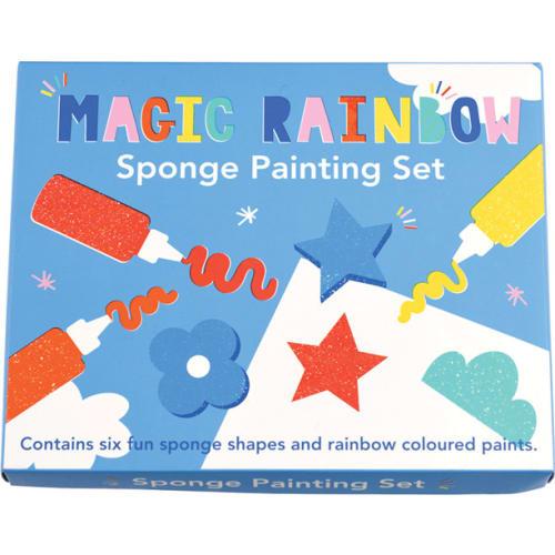 Zestaw do malowania gąbką, Magiczna tęcza, Rex London