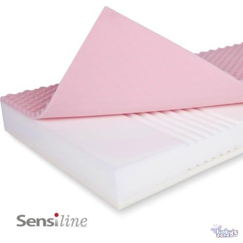 Materac do łóżeczka SensiLine PRESTA 120x60 + pokrowiec Sensi