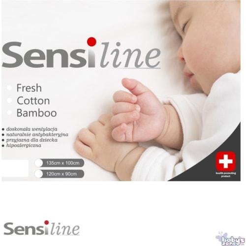 Kołderka z poduszką dla dziecka SENSI FRESH 135x100