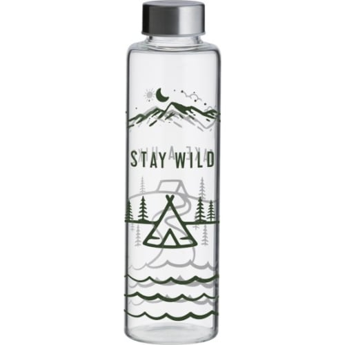 Butelka szklana Stay Wild, Pure  0,6 l
