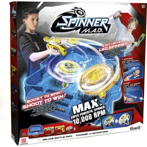 Dumel Silverlit Spinner M.A.D Zestaw Deluxe Battle Pack