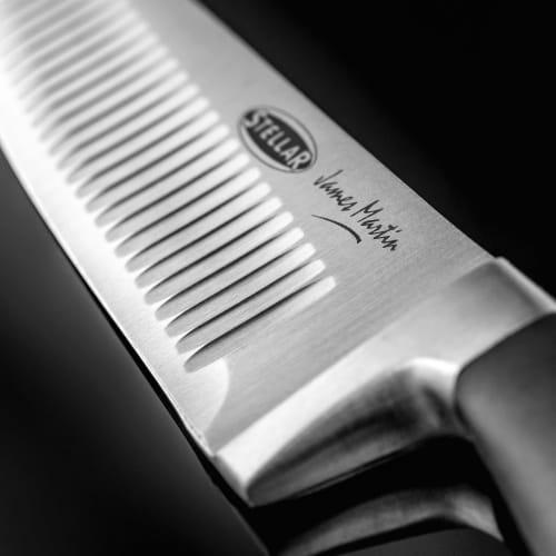 """Żebrowany nóż szefa, IJ James Martin 15cm/6"""""""