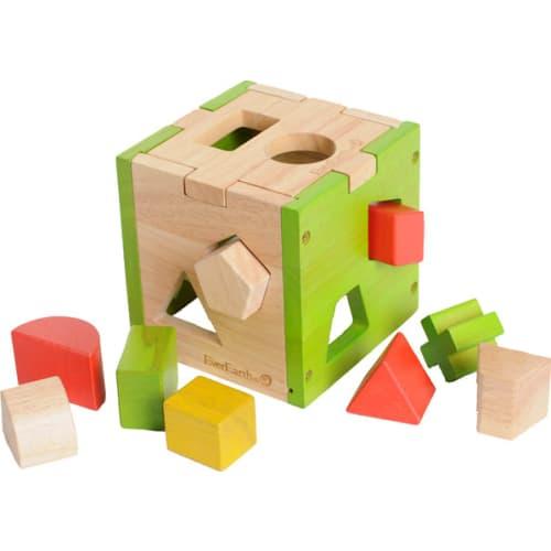 Sorter drewniany układanka Kostka
