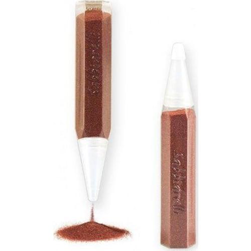 Magiczny piasek do kolorowania, pojedynczy pisak, brązowy, 3l+