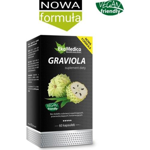 Graviola kaps. 60 szt VEGAN friendly