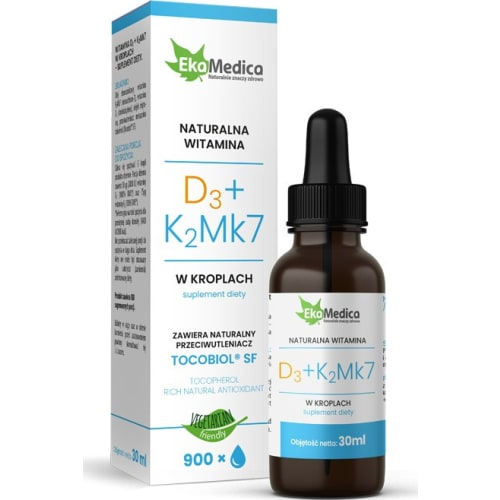 Witamina D3 + K2Mk7