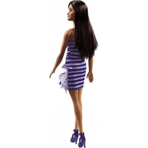 Barbie lalka czarująca (fioletowa sukienka)
