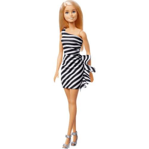 Barbie lalka czarująca (biało-czarna)