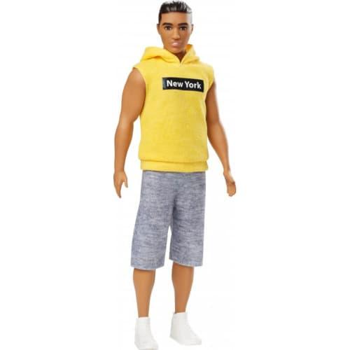 Barbie stylowy Ken ( żółta bluza)