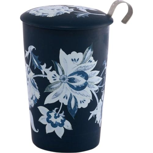 Kubek z zaparzaczem TeaEve Luna niebiesk 350 ml