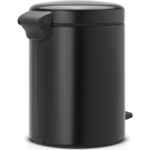 Brabantia kosz pedałowy do segregacji New Icon czarny mat 2 x 2L