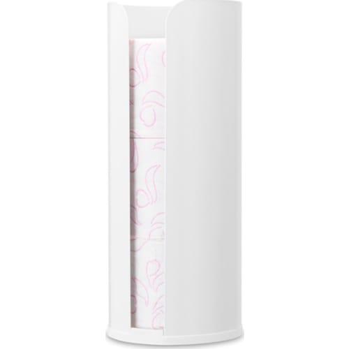Brabantia zasobnik na papier toaletowy ReNew biały