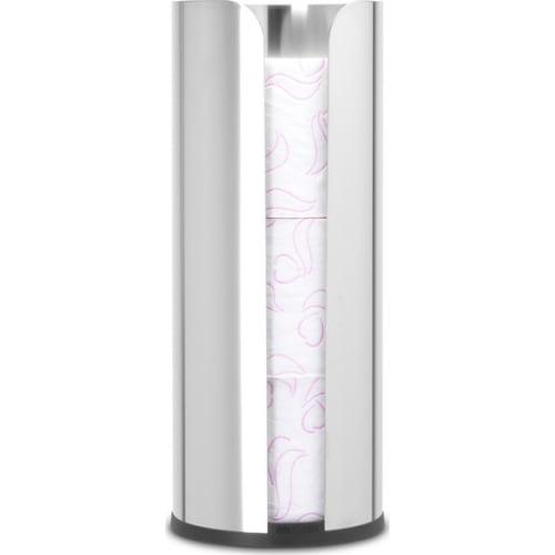 Brabantia zasobnik na papier toaletowy ReNew stal polerowana