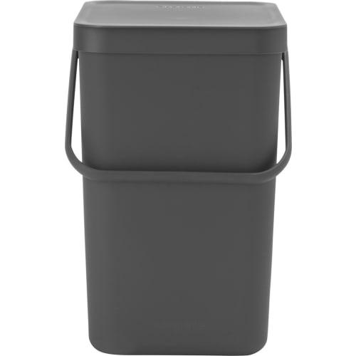 Brabantia kosz na odpadki Sort & Go szary 25 l