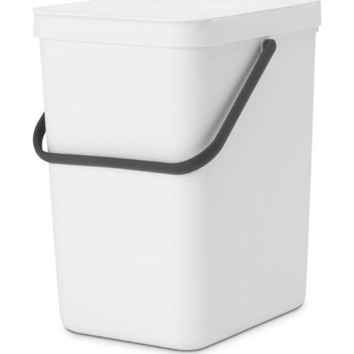 Brabantia kosz na odpadki Sort & Go biały 25 l