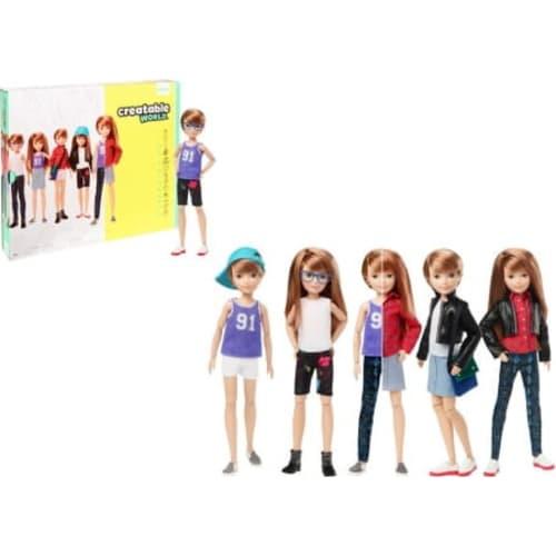 Barbie Creatable World Lalka  Truskawkowy blond