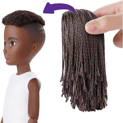 Barbie Creatable World z Ciemnymi Plecionymi Włosami