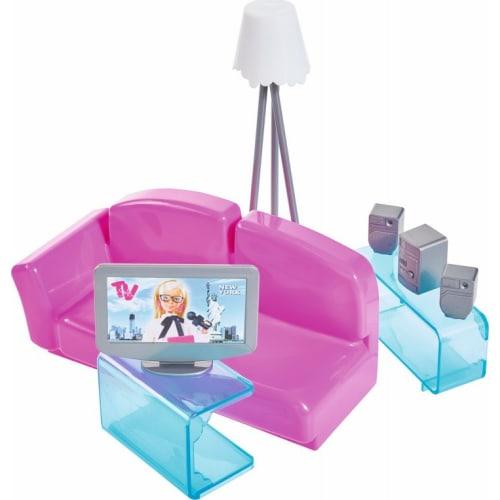 Mebelki dla lalki Steffi Salon