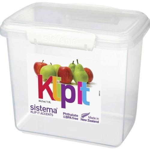 Sistema Pojemnik na żywność prostokątny 1,9l