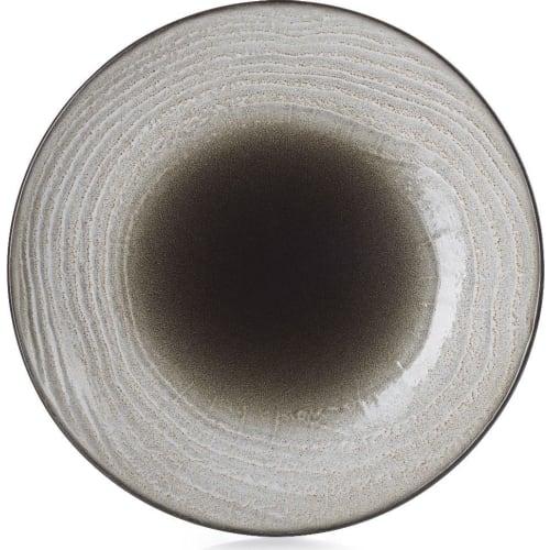 SWELL Talerz głęboki 27 cm brązowy piasek
