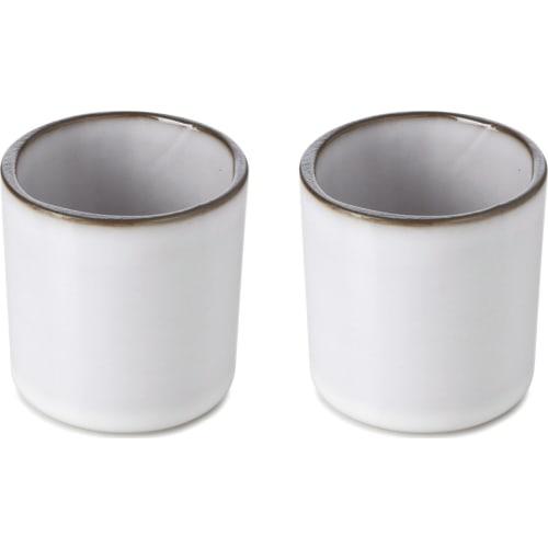 CARACTERE Filiżanka do espresso (2 x 80 ml) Biała chmura