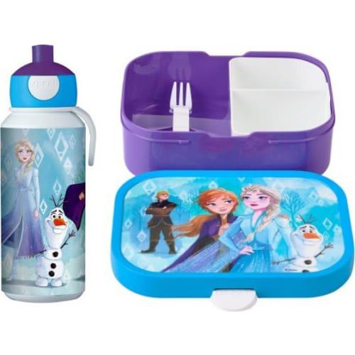 Mepal Zestaw butelka i lunchbox + widelczyk dla dziecka Frozen 2