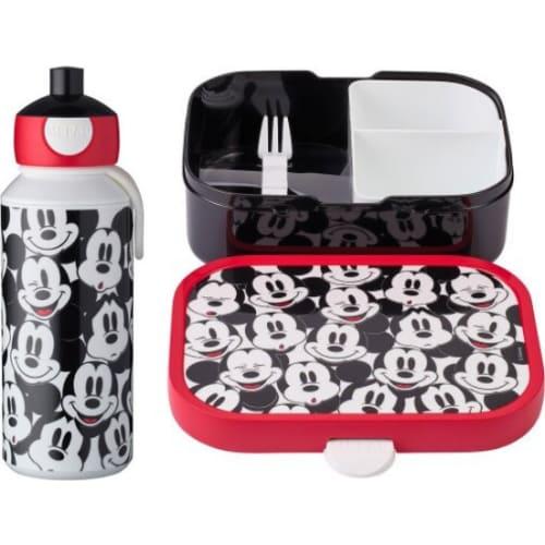 Mepal Zestaw butelka i lunchbox + widelczyk dla dziecka Mickey Mouse