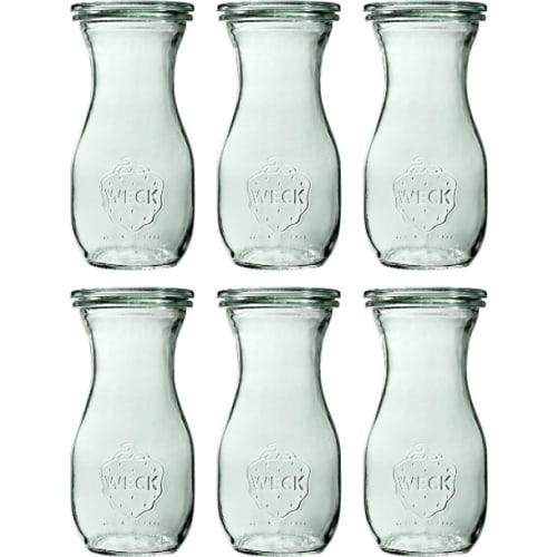 Butelka bez pokrywki 290 ml WECK op. 6 szt.