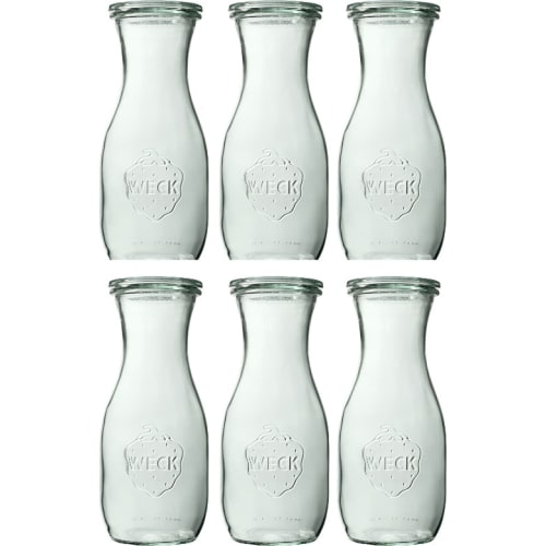 Butelka bez pokrywki 530 ml WECK op. 6 szt.