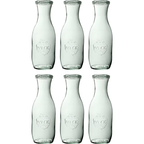 Butelka bez pokrywki 1062 ml WECK op. 6 szt.