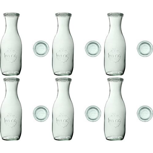 Butelka z pokrywką 1062 ml WECK op. 6 szt.