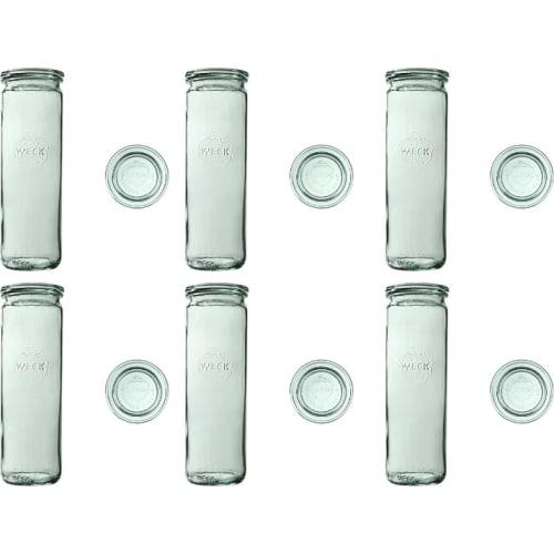 Słoik cylindryczny z pokrywką 600 ml WECK op. 6 szt.