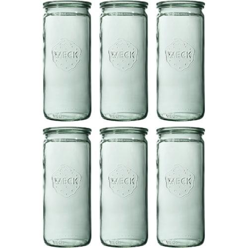 Słoik cylindryczny bez pokrywki 1040 ml WECK op. 6 szt.